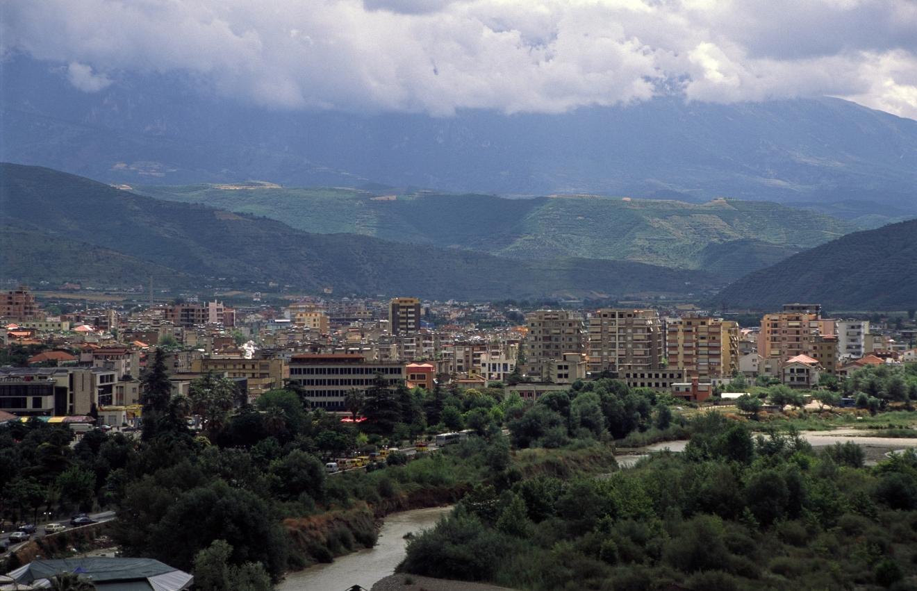 Berat (Albania) - The new town