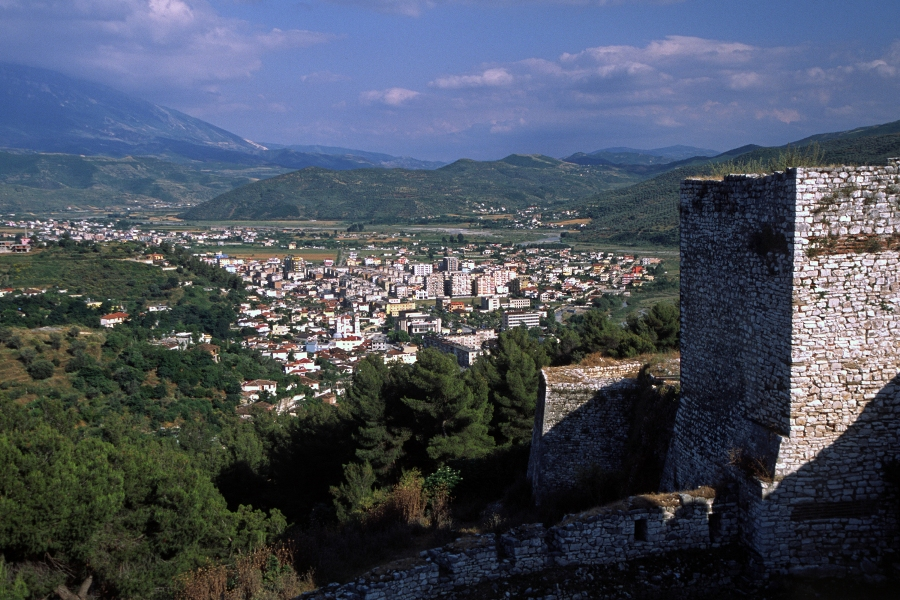 Berat (Albania) - The town from the castle
