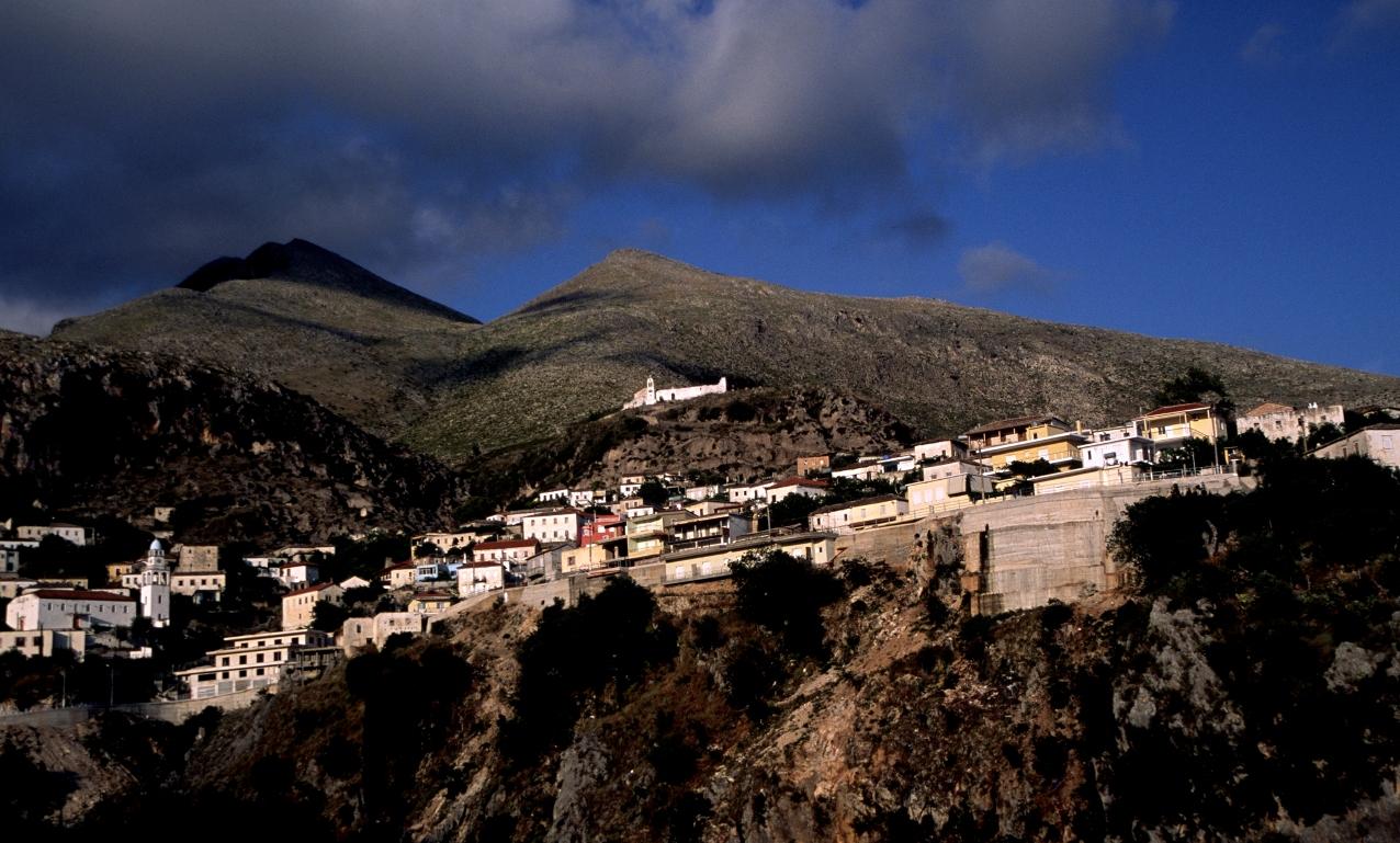 Dhermi (Albania) - The village