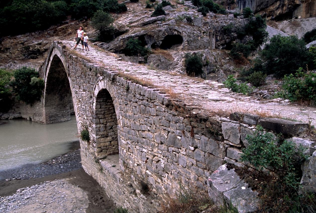 Permet (Albania) - An ancient ottoman bridge