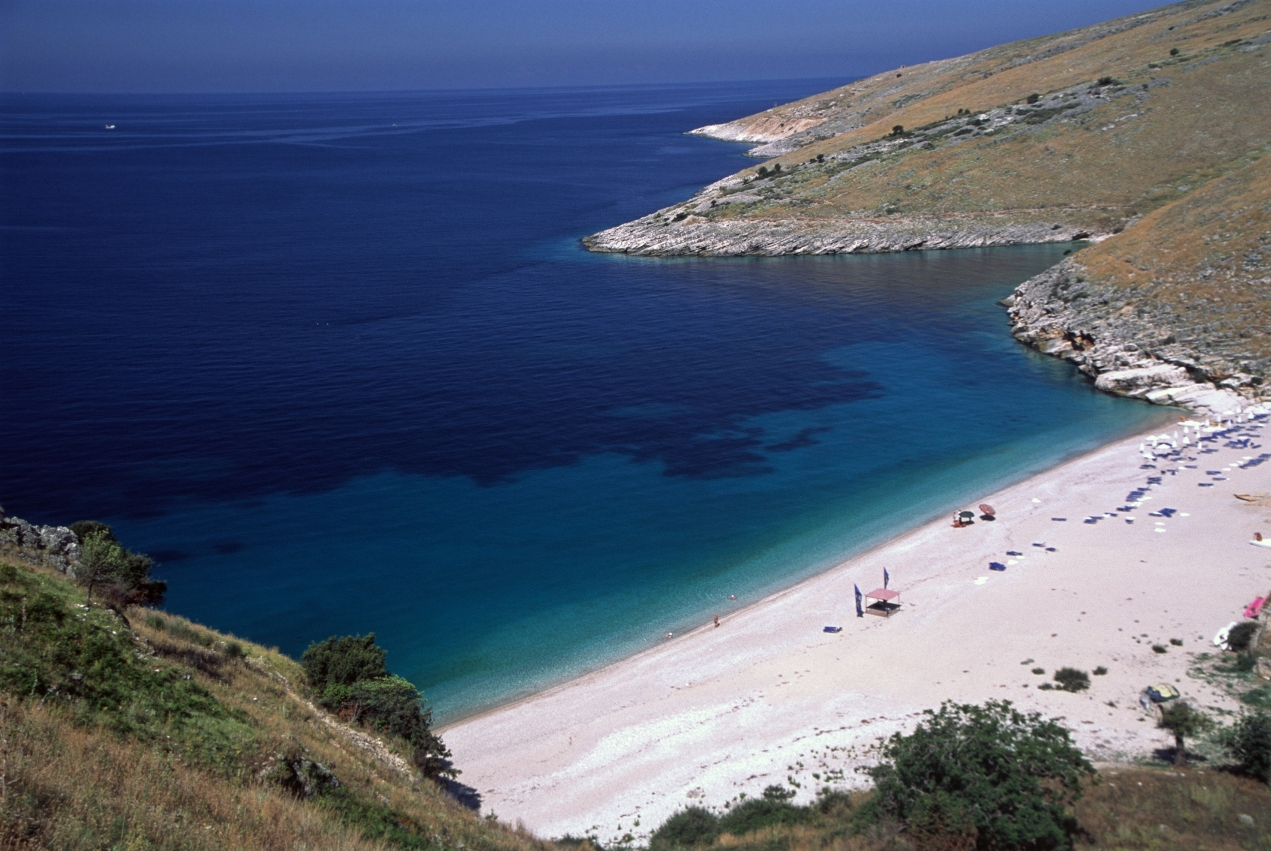 Qeparo (Albania) - A beautiful beach