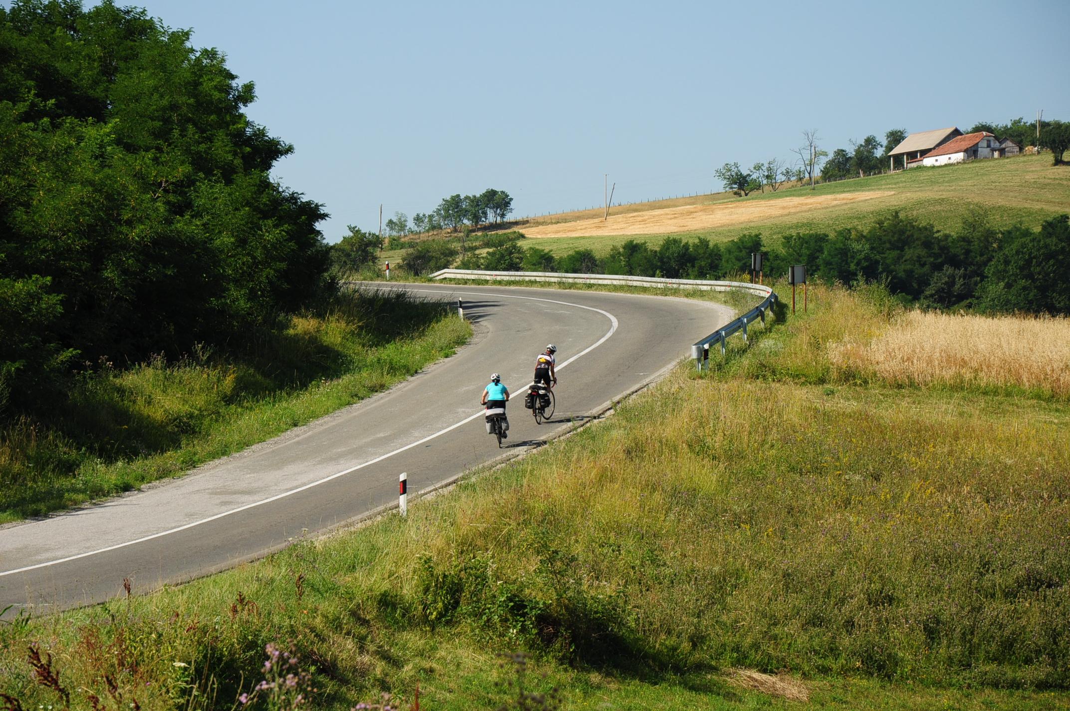 Leaving Valjevo