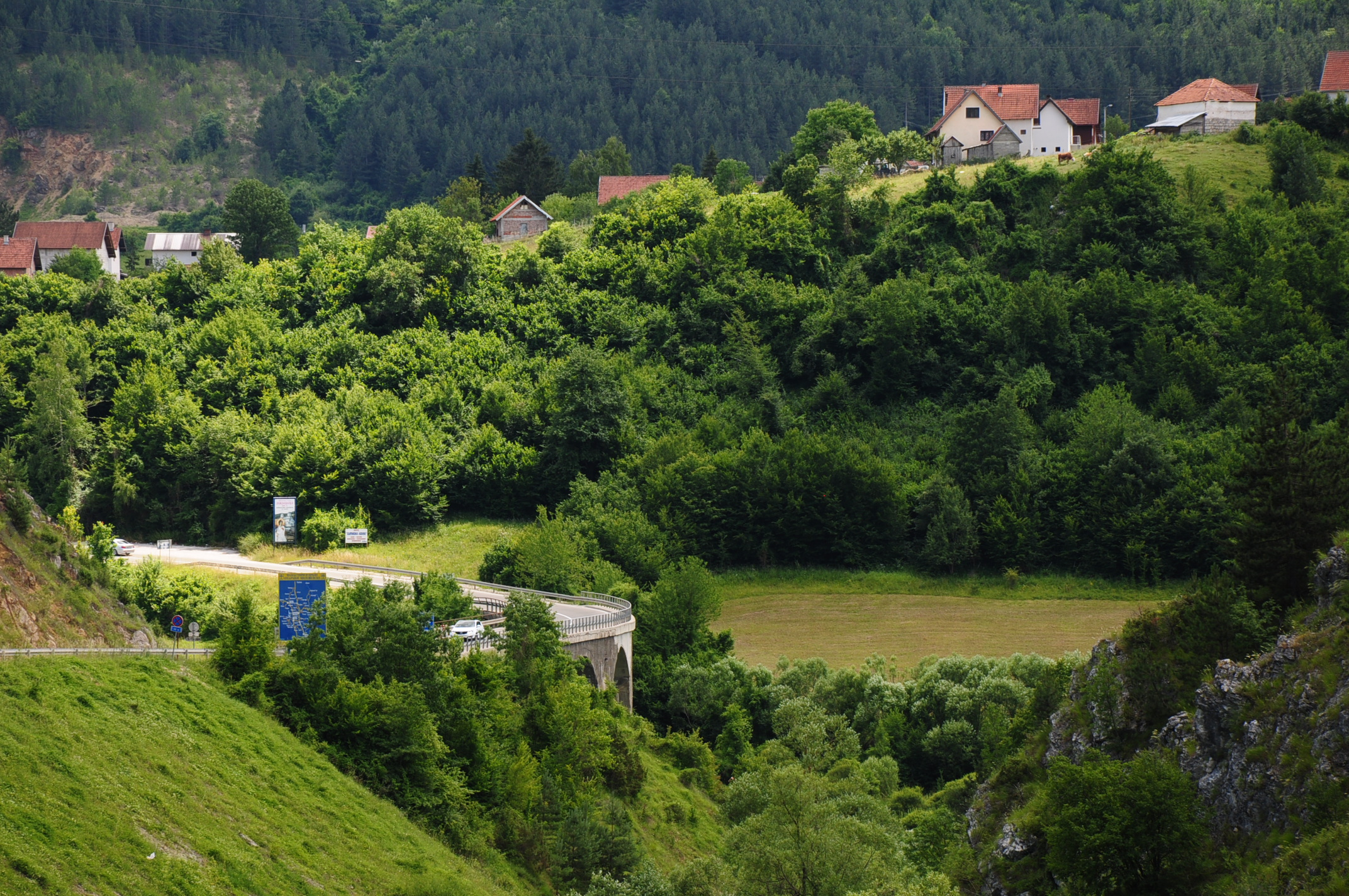 Rural idyll in South Serbia