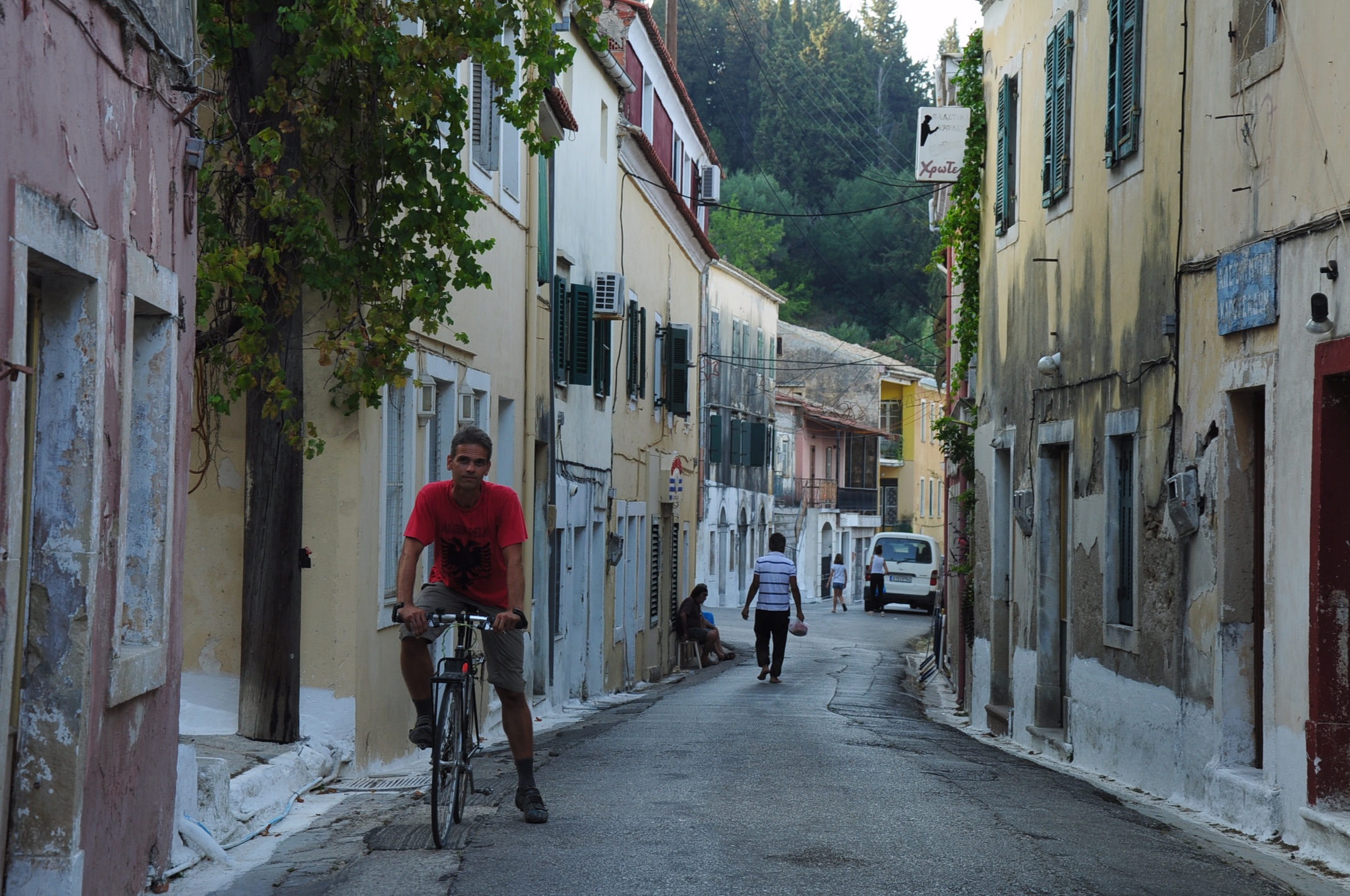 Our favourite village in Corfu