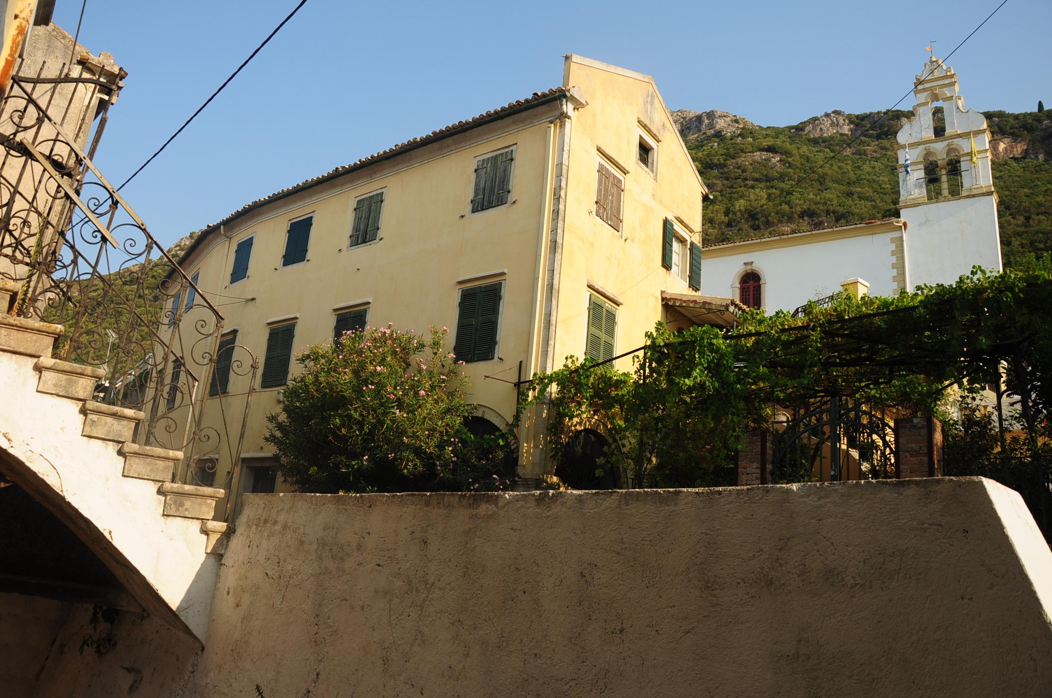 """The """"busy"""" centre of Scripero"""