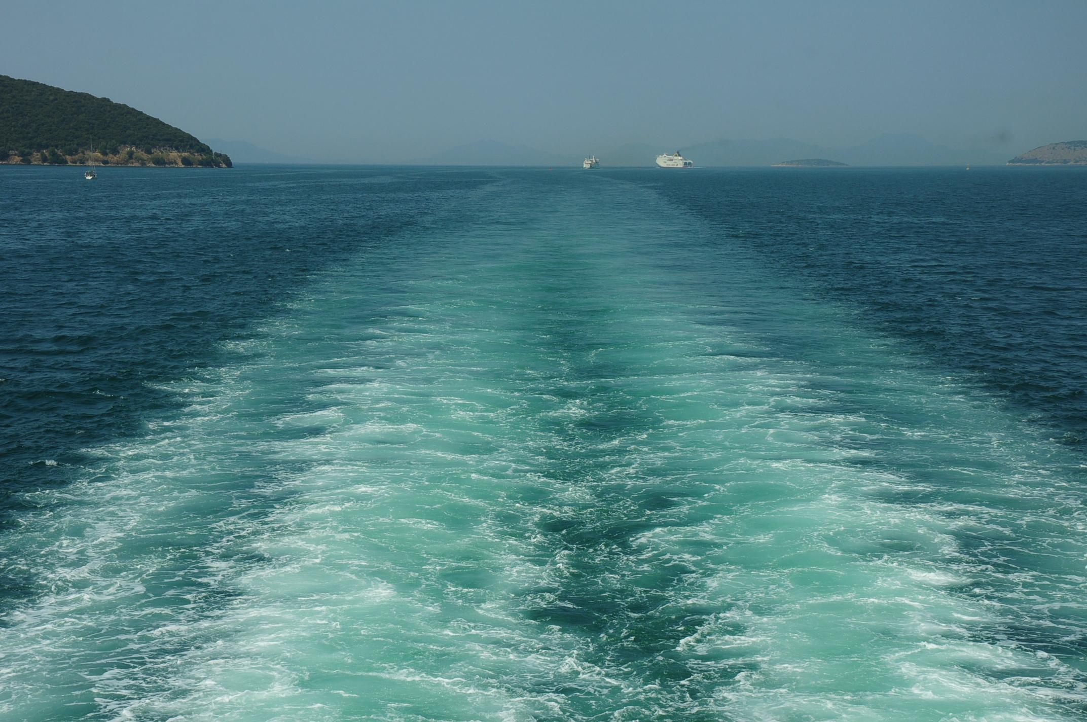 Goodbye, Corfu!