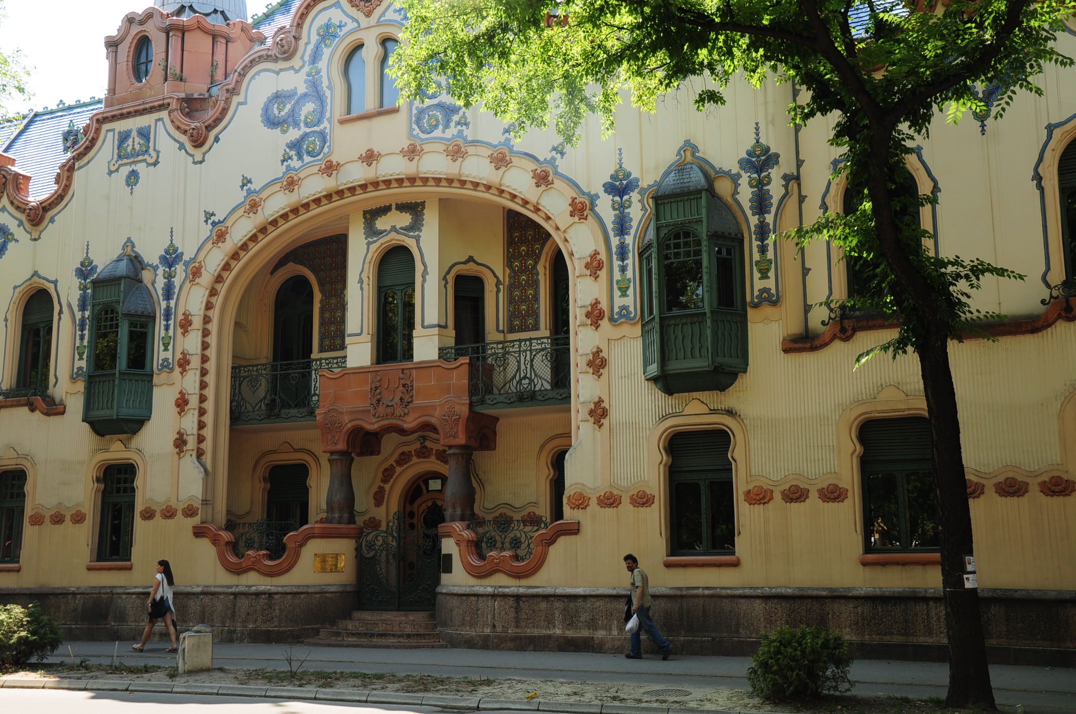 A beautiful Art Nouveau house n Subotica