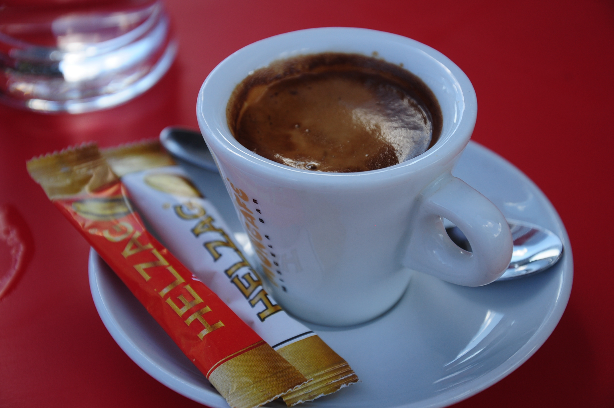 Coffee and sugar, Albania