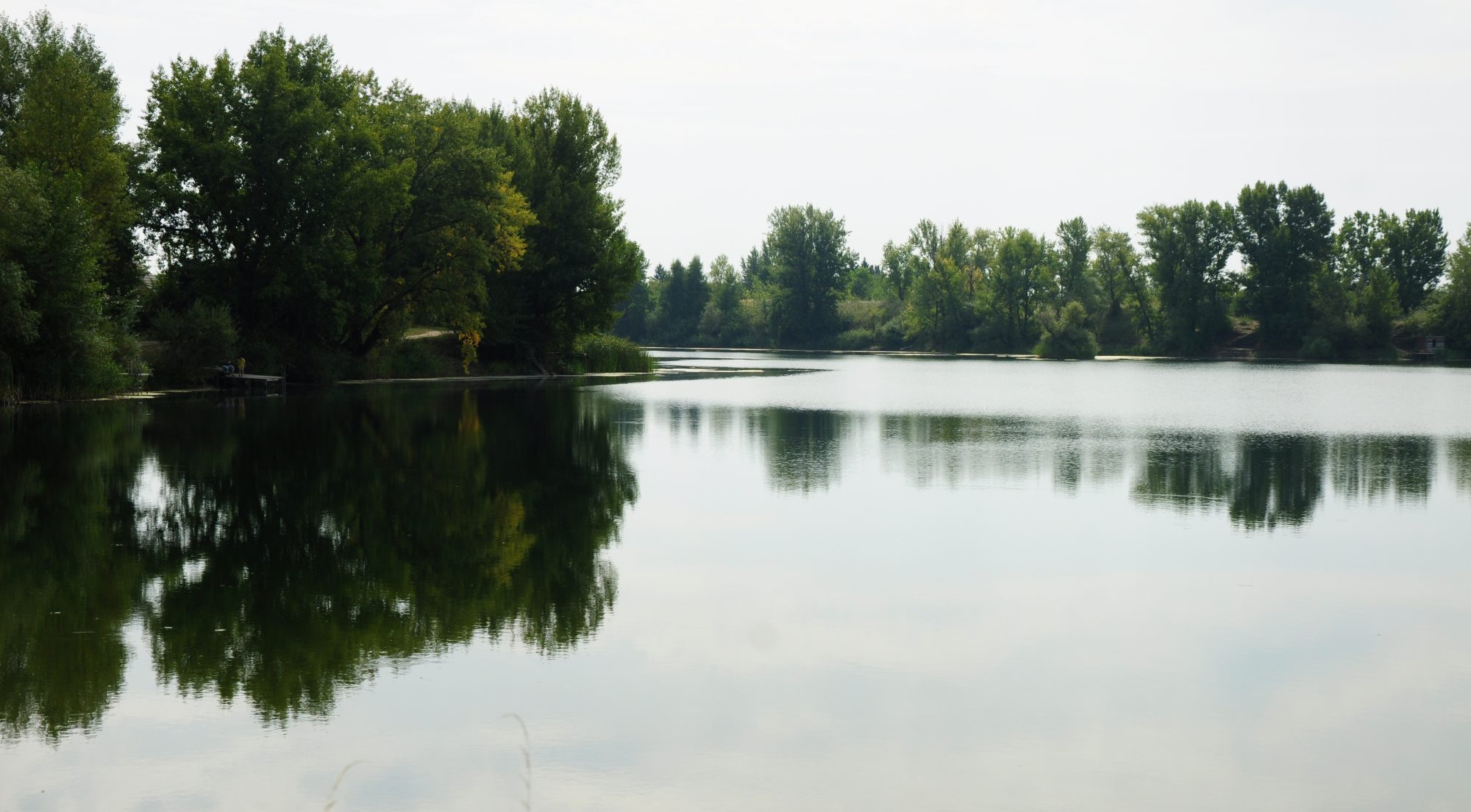 A pretty fishing lake near Miskolc