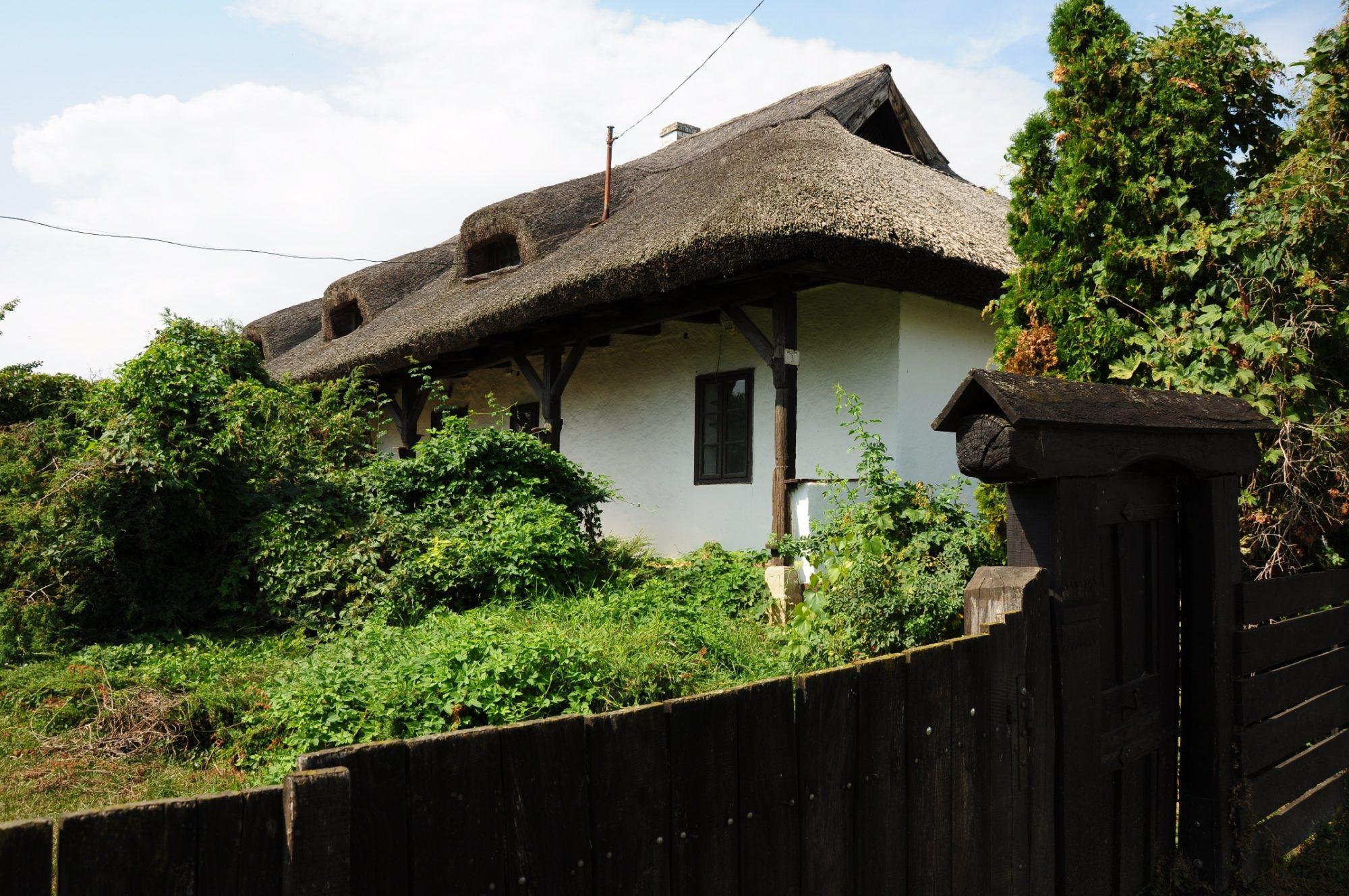 Hagyományos falusi ház Tiszadobon