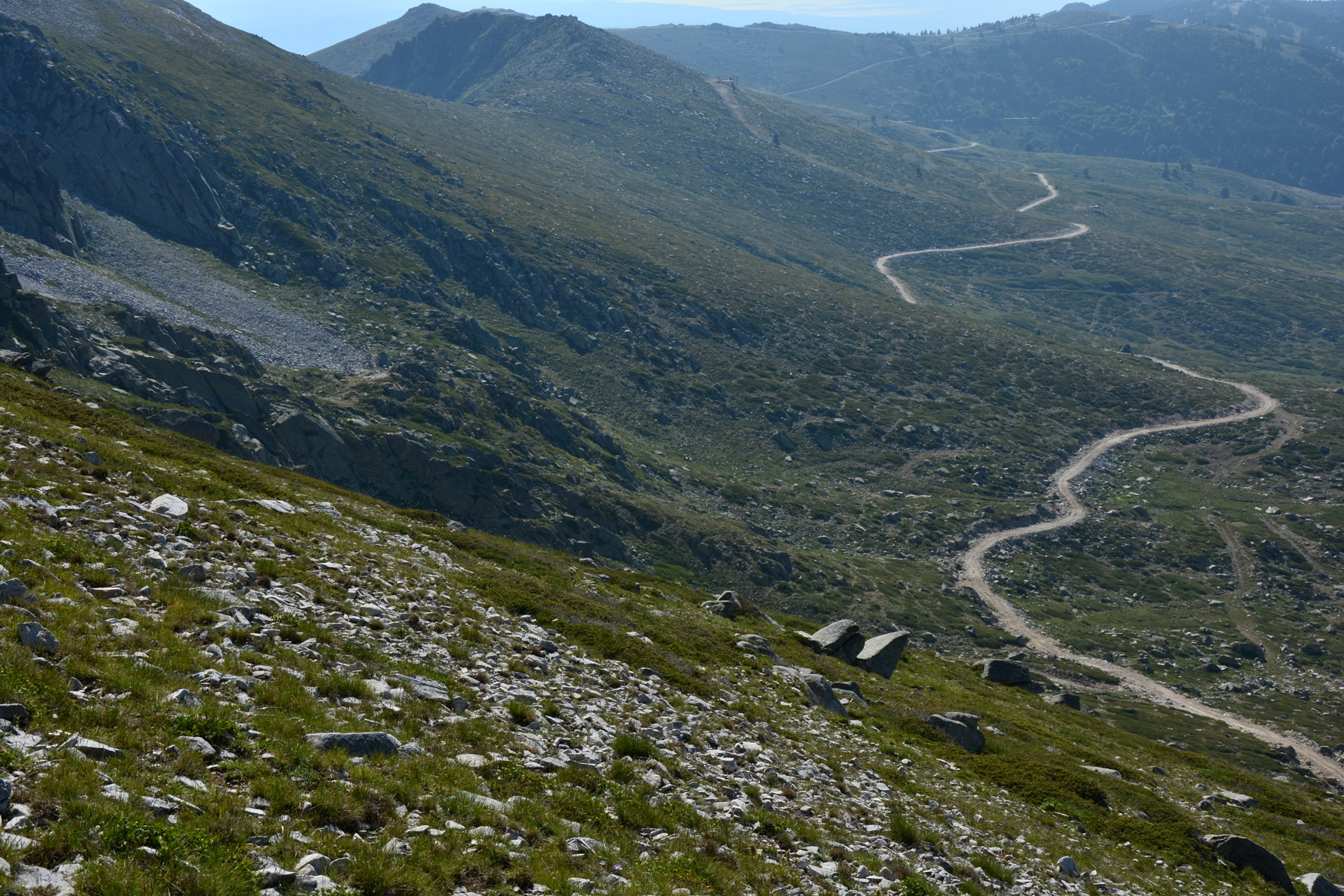 Winding road, Uludag mountains