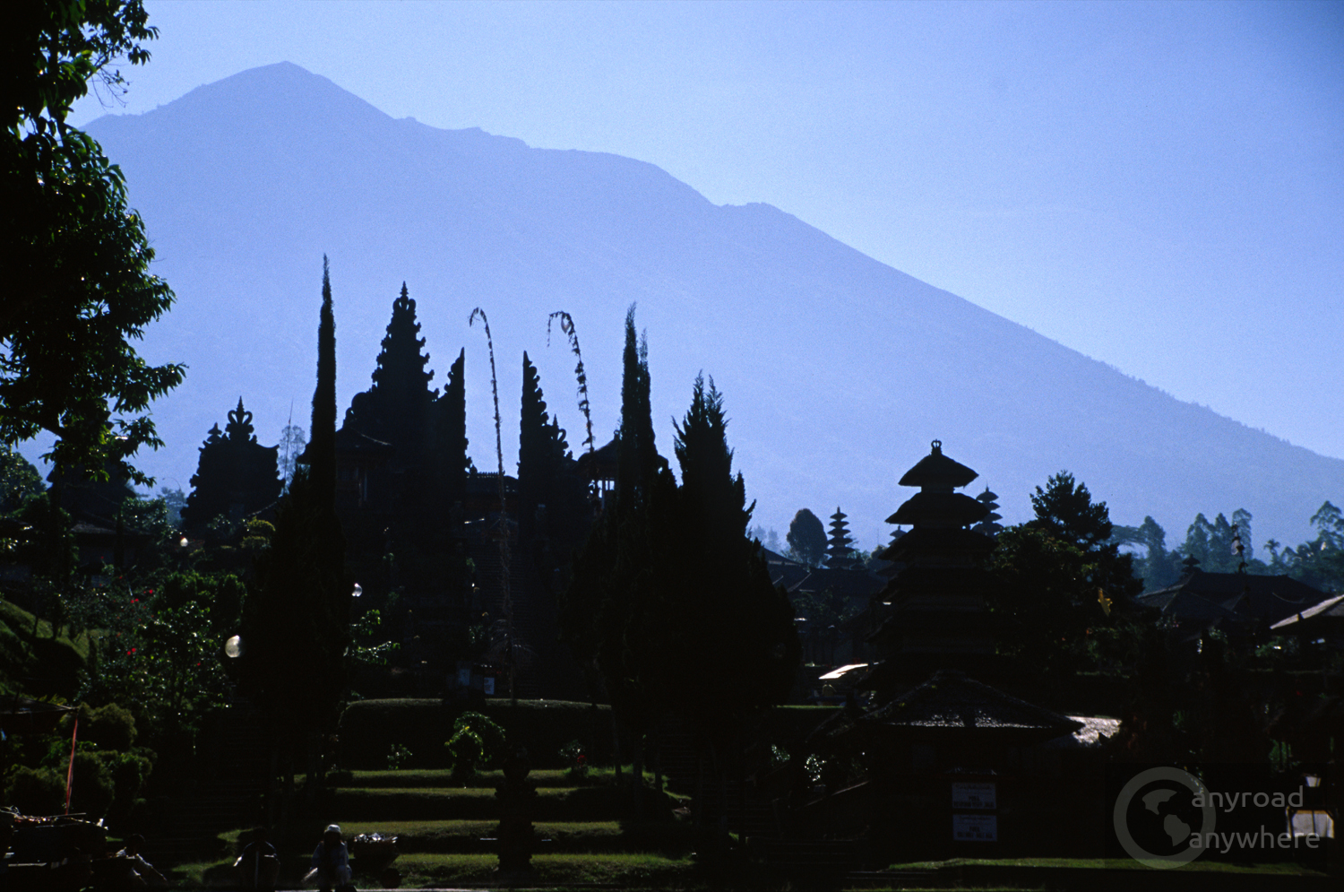 Besakih Temple Complex on the slopes of Mount Agung