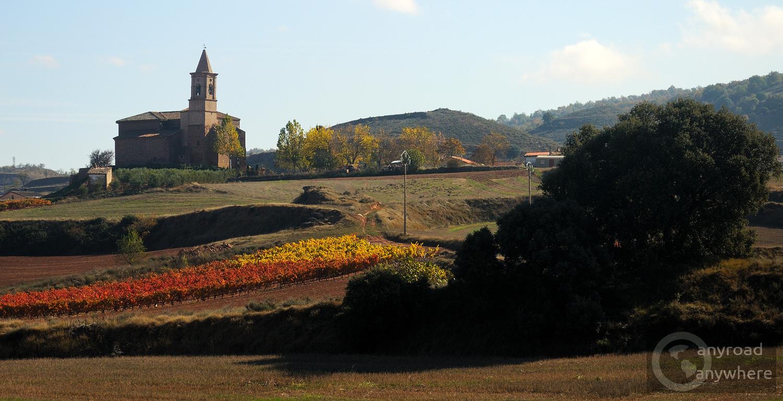 Az utolsó falu Logroño előtt