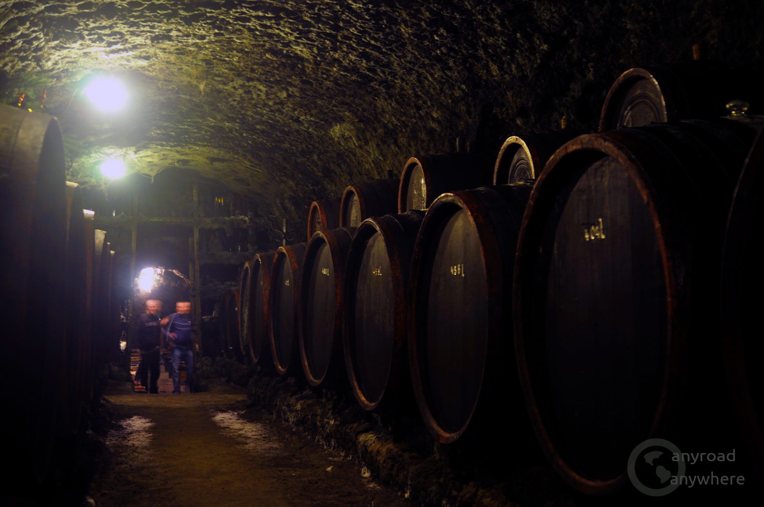 The barrels used in Tokaj wine region are made from local oak wood to add their flavour to the wine