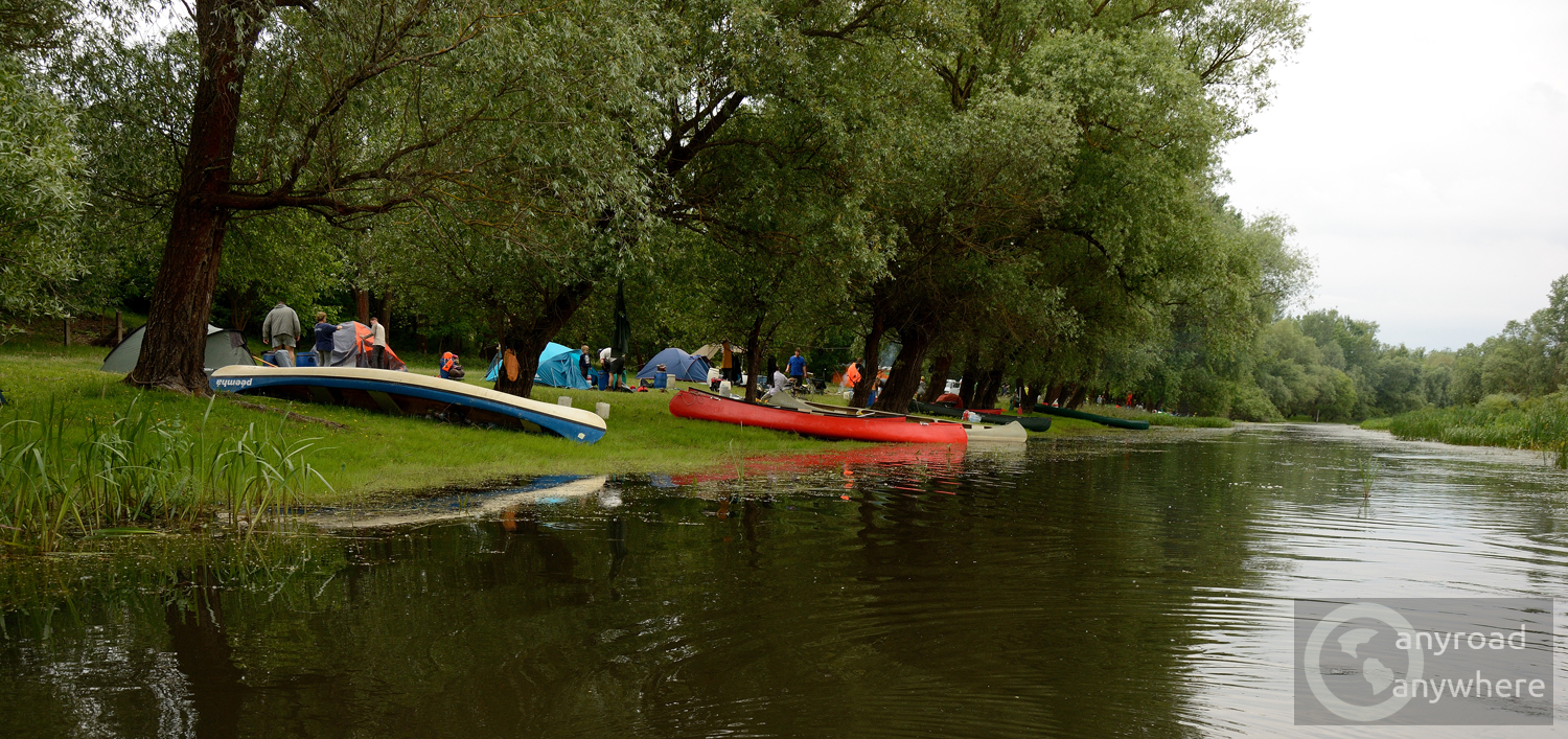 You can spend days canoeing and camping in the area in the summer months