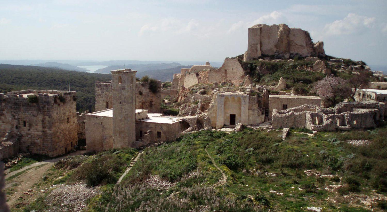 Salah ad-Din Castle neat Latakia