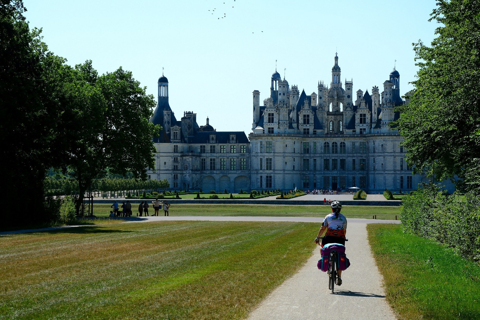 Chateau of Chambord near the Loire