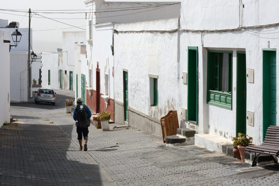 Teguise has lots of very pretty streets
